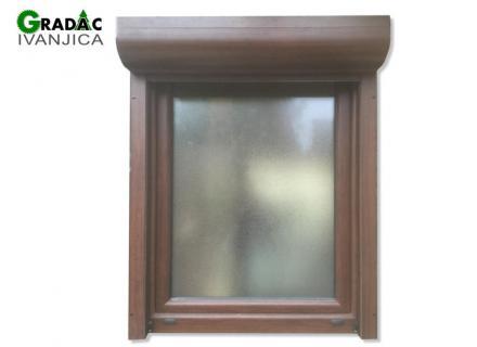 Drvo aluminijum prozor