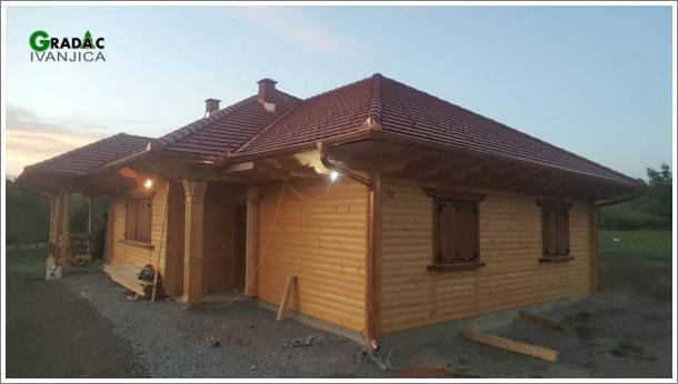 Brvnara prizemnica - kuća za stanovanje - stolarija Gradac, Ivanjica