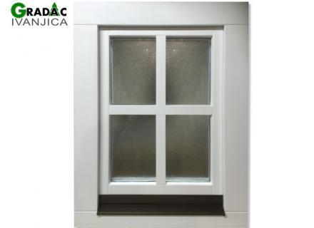 Jednokrilni drveni prozor