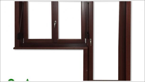 Dvokrilni prozor i balkonska vrata, stolarija Gradaca, Ivanjica