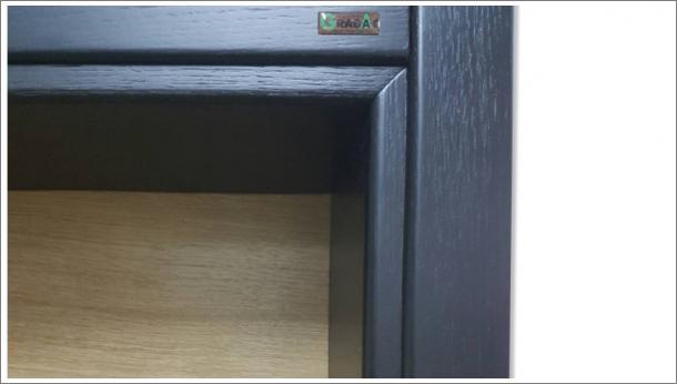 Drvena sobna vrata, detalj, vrata i štok, stolarija Gradac Ivanjica.