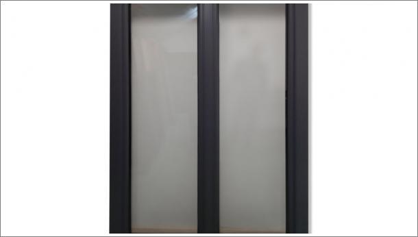 Drvo Aluminijum dvokrilni prozor sa troslojnim staklom - stolarija Gradac Ivanjica